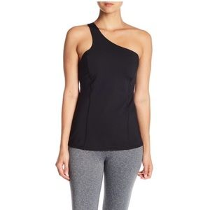 One shoulder athletic top
